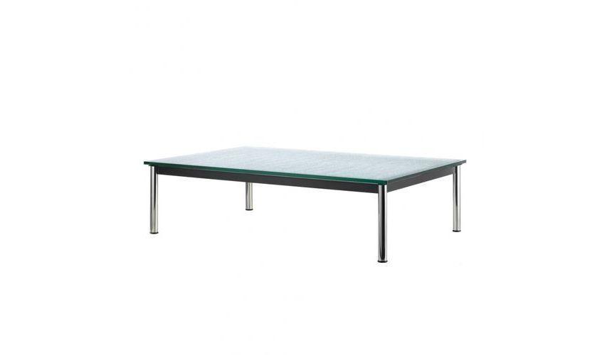 le corbusier lc10 p outdoor table basse cassina. Black Bedroom Furniture Sets. Home Design Ideas