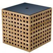 Skagerak - Hide Box Aufbewahrungs Box - teak/38x38x38,5cm/inkl. Deckel