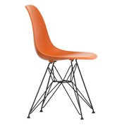 Vitra - Eames Plastic Side Chair DSR Black Base