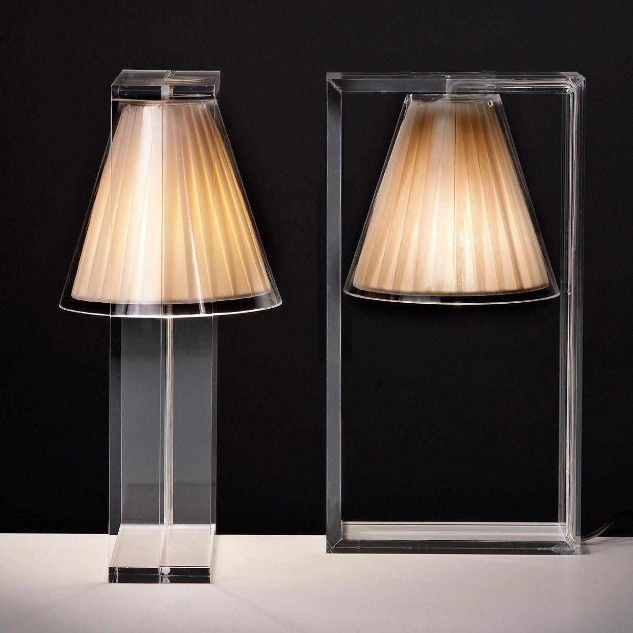 Kartell Light-Air - Lampe de table abat-jour tissu | AmbienteDirect