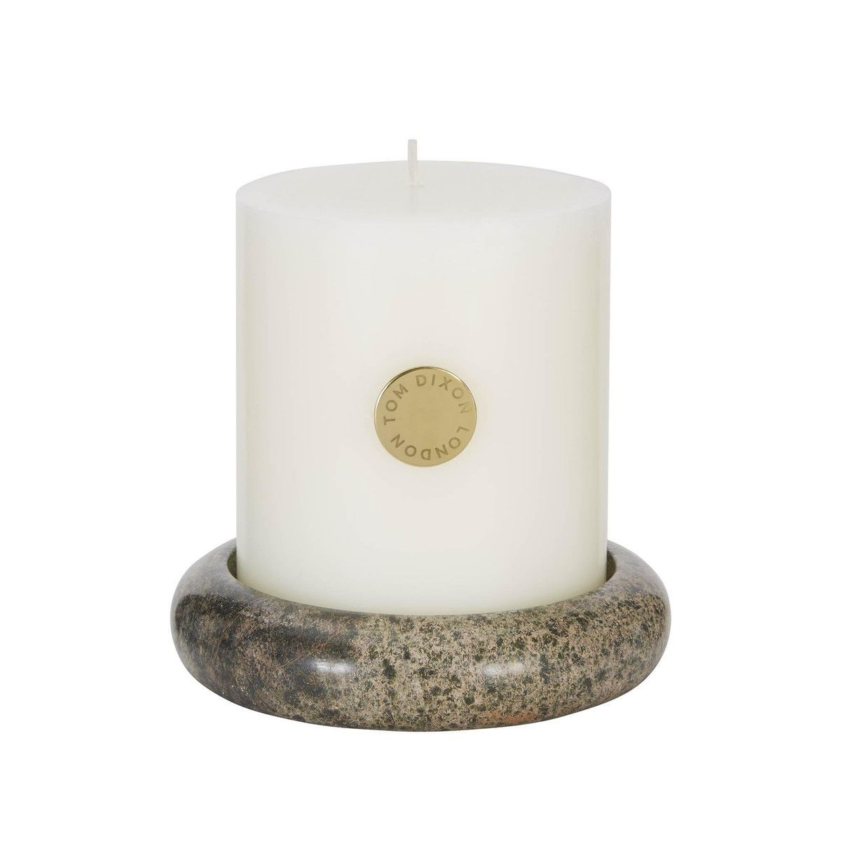 materialism stone pillar candle tom dixon candle. Black Bedroom Furniture Sets. Home Design Ideas