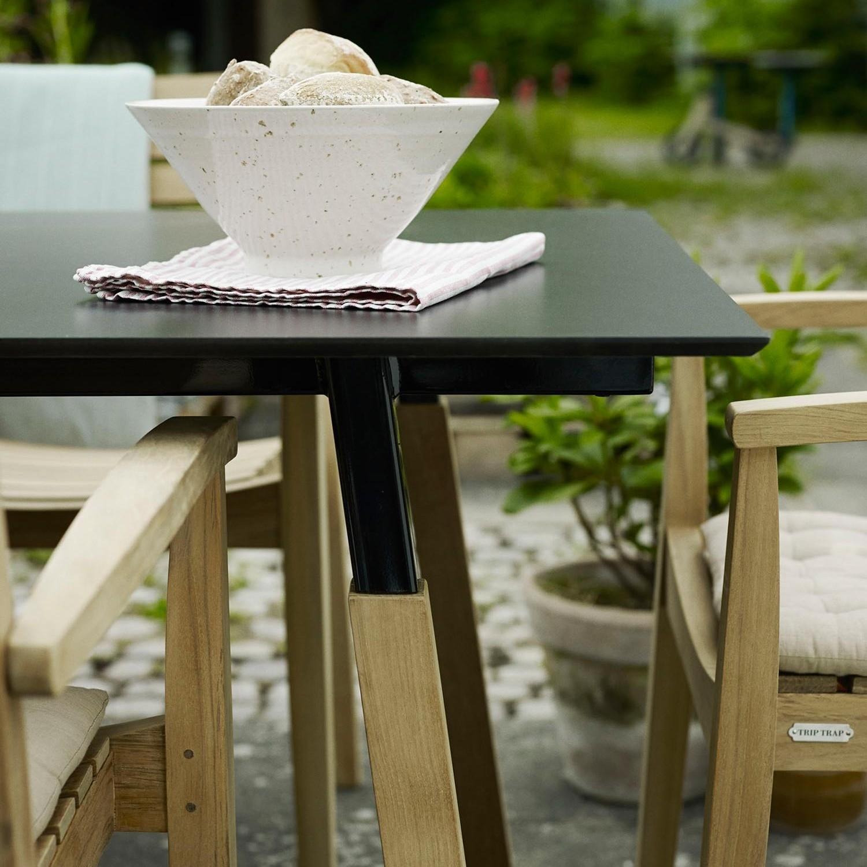 skagerak way outdoor garden table 180x90cm ambientedirect rh ambientedirect com