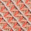 GAN - Raw Pouf klein - pink/Schaumgummi/LxBxH 78x78x38cm
