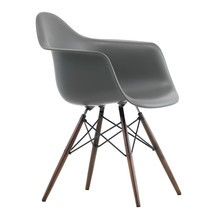 Vitra - Eames Plastic Armchair DAW Dark Maple Base