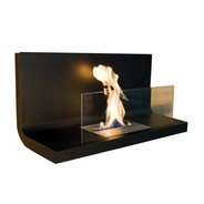 Radius - Radius Wall Flame 1 Wall-mounted Fireplace