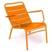 Fermob - Luxembourg Tiefer Sessel - karotte orange/lackiert/tief