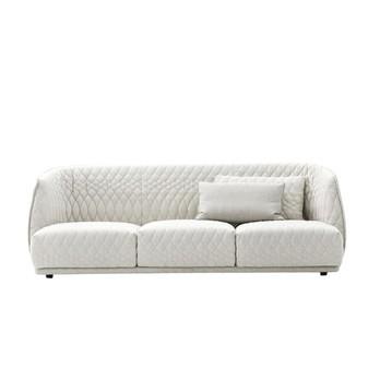 Moroso - Redondo Sofa 4-Sitzer - weiß/100% Leinen