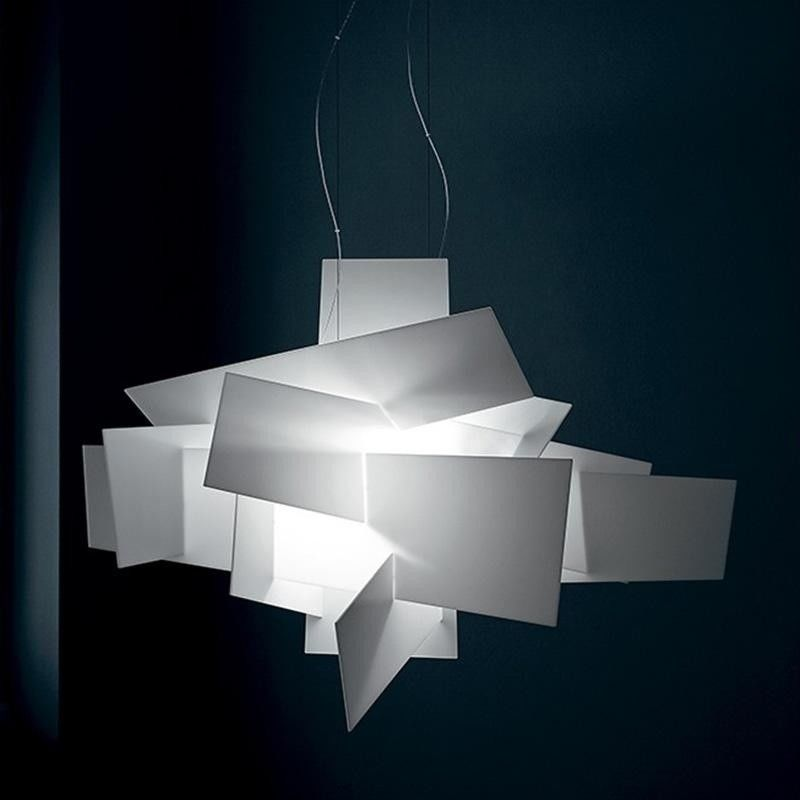big bang l led suspension lamp foscarini. Black Bedroom Furniture Sets. Home Design Ideas