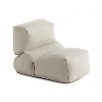 GAN - Grapy Sitzsack - grau/LxBxH 100x70x60cm