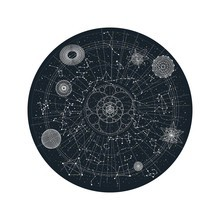 Moooi Carpets - Celestial Teppich rund