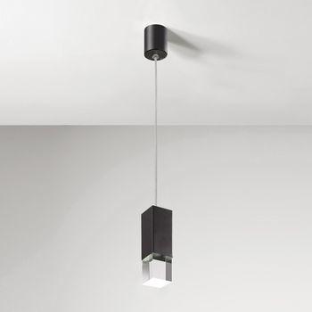 Lumen Center Italia - Pinco S LED Pendelleuchte - schwarz/matt/3000K/500lm/CRI>90/inkl. Betriebsgerät
