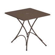 emu - Table de jardin pliable Pigalle 76x76cm