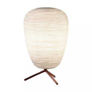 Foscarini - Rituals Tischleuchte - weiß/Glas satiniert/Größe 1, H 40cm/Ø 24cm/exkl. Leuchtmittel
