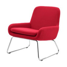 Softline - Coco Armchair With Skids