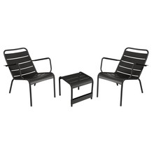 Fermob - Fermob Luxembourg Set Armchair + Coffee Table