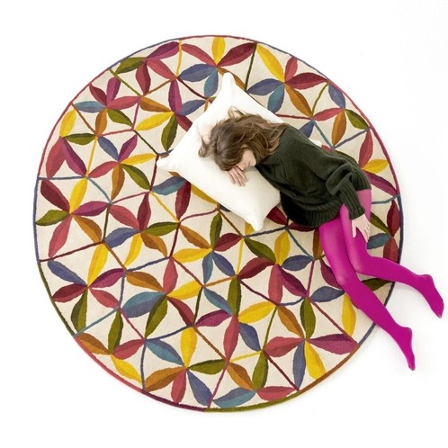 Nanimarquina - Kala Design Neuseeland-Wollteppich rund