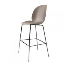 Gubi - Gubi Beetle Bar Chair Barhocker Chrom 118cm