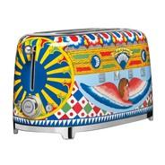 Smeg - Limited Edition D&G TSF02 4-Scheiben Toaster