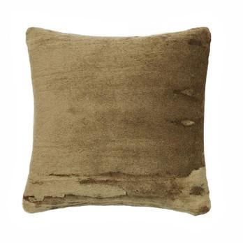 Tom Dixon - Soft Kissen 45x45cm - khaki/45x45 cm/Füllung: 95% Entenfedern, 5% Daunen