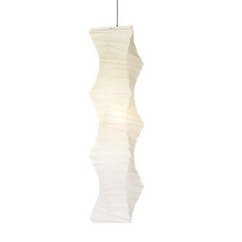 Vitra - Akari 33N Suspension Lamp - paper/frame iron/WxH 47x160cm/Ø 47cm