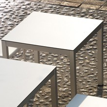 Jan Kurtz - Quadrat Gartentisch/Gestell Aluminium