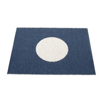 pappelina - Vera Small One Teppich 70x90cm - ozeanblau/vanille/wendbar/gewebt/Kante geschweißt/für Innen- und Außenbereich geeignet