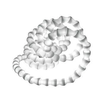 Kundalini - Abyss Tischleuchte - weiß/Polycarbonat/inkl. Leuchtmittel
