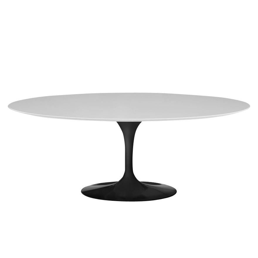 Saarinen tuintafel ovaal outdoor knoll international - Tafel knoll ...