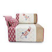 Moroso - Block Seat Sessel Armlehne links - multicolour