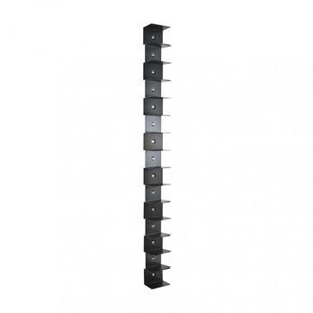 Opinion Ciatti - Ptolomeo Wall 210 Büchersäule - schwarz/lackiert