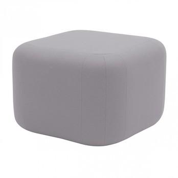 Softline - Quadro Hocker/Beistelltisch - grau/Filz 620/LxBxH 58x58x39cm