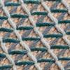 GAN - Raw Pouf klein - blau/Schaumgummi/LxBxH 78x78x38cm