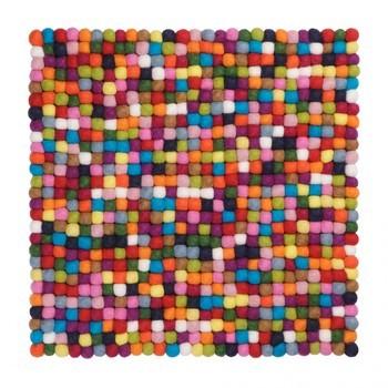 myfelt - Lotte Sitzauflage 36x36cm - mehrfarbig