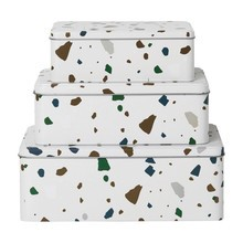 ferm LIVING - Set de 3 cajas Tin