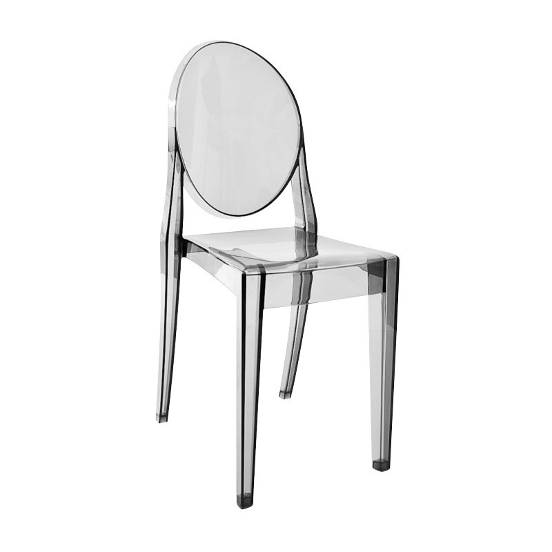 ... Kartell   Victoria Ghost Chair   Fume/transparent ...