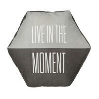 Bloomingville - Live In The Moment Floor Cushion Ø70cm