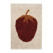 ferm LIVING - Fruiticana Tufted Strawberry Rug 180x120cm