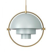 Gubi - Multi-Lite Suspension Lamp Brass