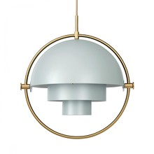 Gubi - Multi-Lite Suspension Lamp Ø36cm Frame Brass