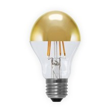 QualityLight - LED E27 BULB MIRRORED DOME 4W => 25W