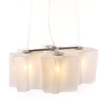 Artemide - Logico Sospensione Mini 4x90° Pendelleuchte - transparent/Glas/LxBxH 60.5x45x22cm/Nur noch wenige im Bestand!