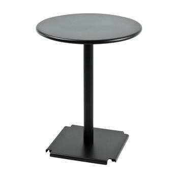 Fast - Cross/Tonik Bistrotisch - schwarz/Gestell schwarz/Ø 60cm