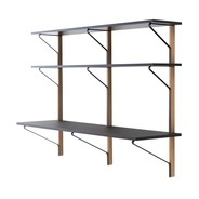 Artek - Artek REB010 Kaari Wall Shelf with Desk