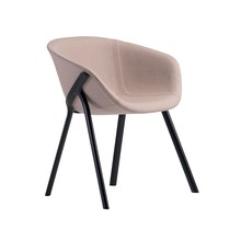Alias - 03A Kobi Soft Armchair Frame Black