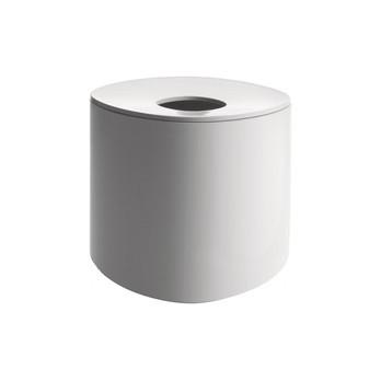 Alessi - Birillo Papiertaschentuch-Behälter hoch - weiß/Ø 15cm/H: 15cm