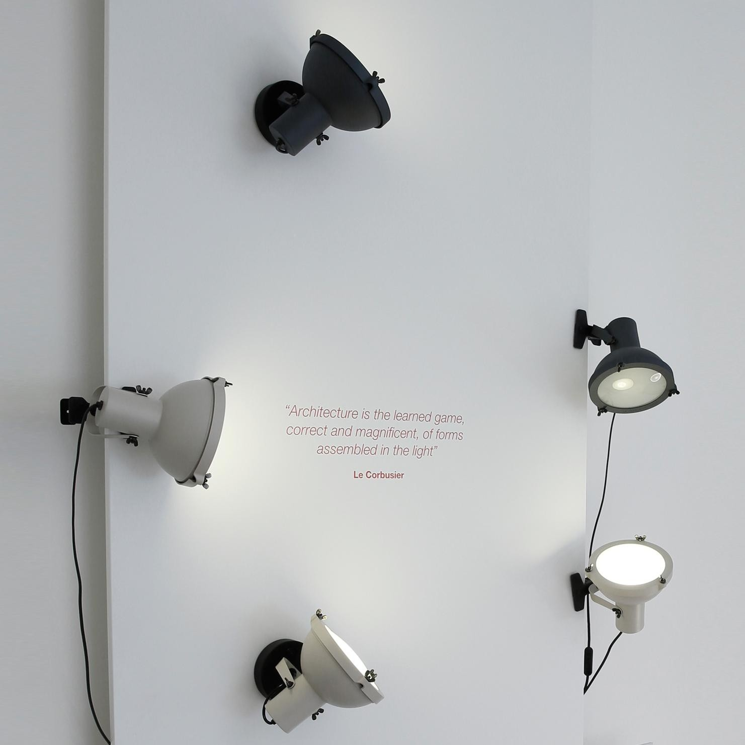 nemo projecteur 165 lampe pince ambientedirect. Black Bedroom Furniture Sets. Home Design Ideas
