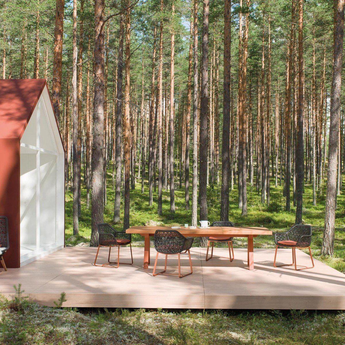 Maia - Chaise avec accoud./ chaise de jardin | Kettal ...