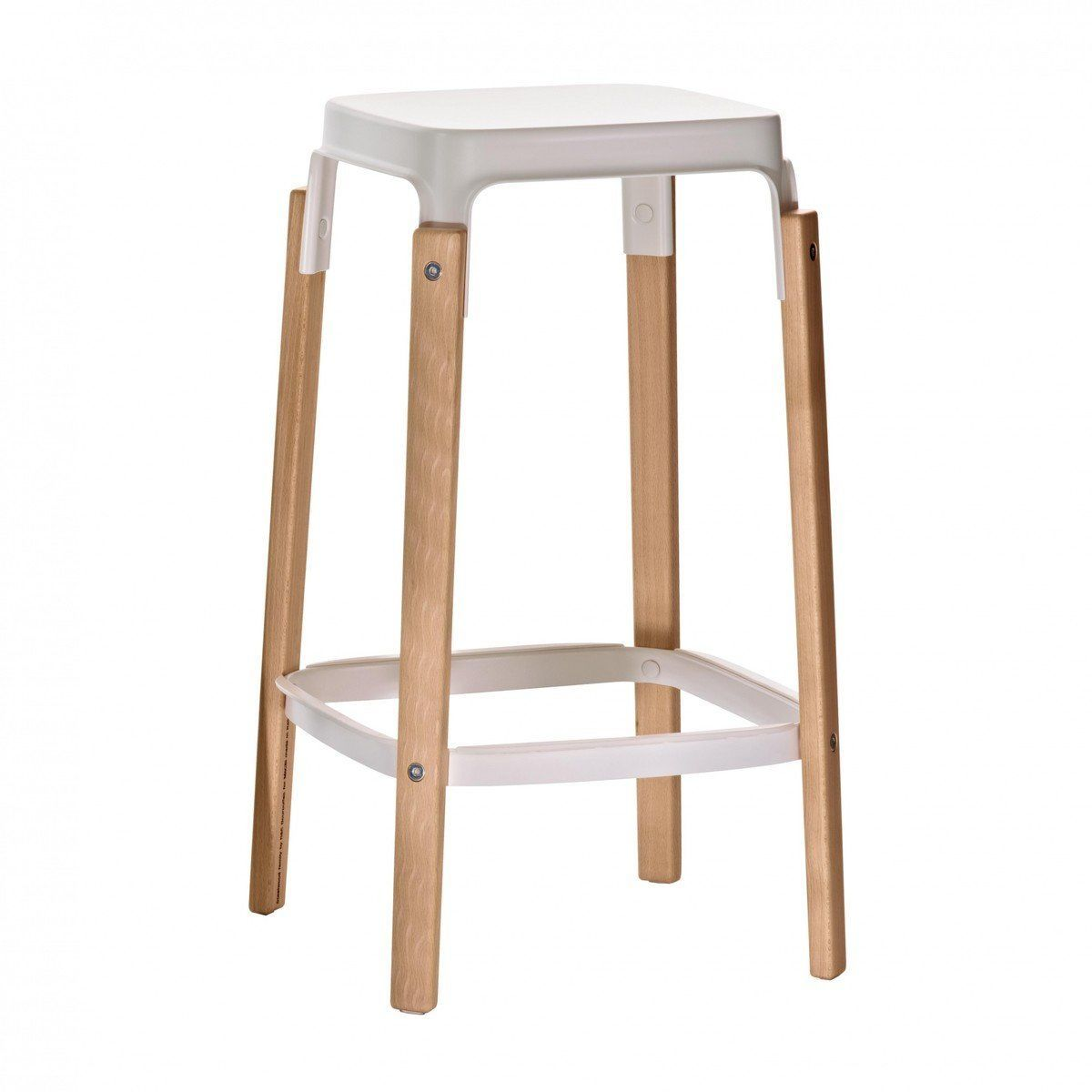 steelwood stool - tabouret de bar 68cm | magis | ambientedirect