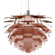 Louis Poulsen - PH Artichoke Suspension Lamp - copper/brushed/lacquered/Size 2/Ø60cm