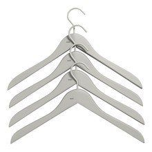 HAY - Set of 4 Soft Coat Hanger Slim